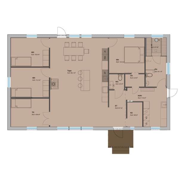 Talonäyttely Puuppolassa 1